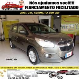 Spin LT Automático 2013 c GNV. Financiamento Facilitado