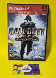 Call Of Duty World At War Final Fronts - Playstation 2