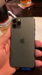 iPhone 11 Pro midnight - 256gb - se detalhes, carregador, fone e cabo.