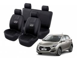 Título do anúncio: Capa de Banco Carro Tecido Grosso Reforçado Cinza Toyota HB 2 Yaris e Universal