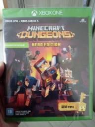 Troco Minecraft Dungeons xbox one