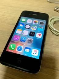 IPhone 4s 8Gb usado funcionando. Aparelho de uso particular