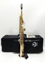 Sax Soprano Reto Eagle Spx512 Profissional NOVO