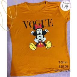 T-shirts da moda