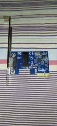 Placa De Rede Pci Express 1000mbps Ethernet