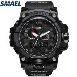 Relógio militar SMAEL (50M) Original - All Black