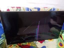 Smart tv Samsung 43 polegadas (tela quebrada)