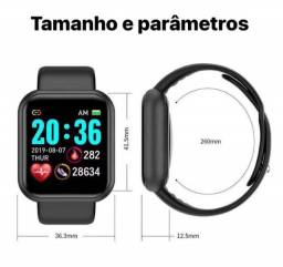 SmartWatch Preto D20 Android / iOS