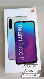Redmi note 8 64gb e 128gb novos