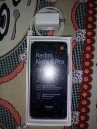 Smartphone Xiaomi Redmi note 8 PRO versão 6gb ram/128 armazenamento modelo Ocean blue