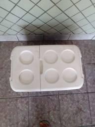 2 Caixas Térmicas 57 litros- Soprano