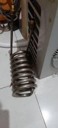 Chiller serpentina titanio