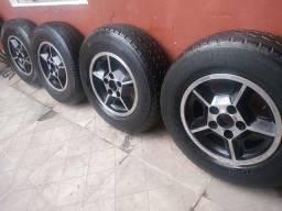 Rodas de época Opala e Kombi