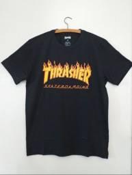 Camiseta trasher nova, de ótima qualidade.