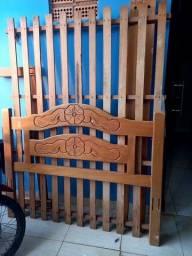 Cama de Casal (Madeira boa)