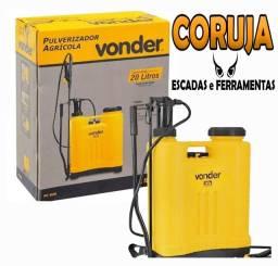 Pulverizador Agrícola 20L Vonder Novo, garantia N Fiscal