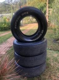 Título do anúncio: Jogo de pneu 4 unidades usado