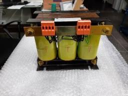 Transformador trifásico 220v 380v 1000va