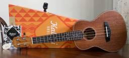 Ukulele Concert Kalani (Kayque Series) + capa e afinador
