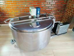 Resfriador Tina Inox Circular Reservatório 300 Litros