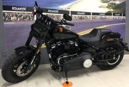 Harley Davidson Fat Bob 107 2019. Apenas 2mkm.