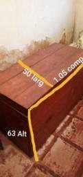 Baú de Madeira Com mais 50 anos super conservado  wats *