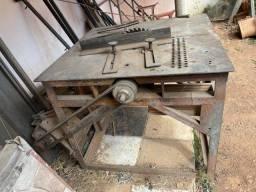 Serra Circular de mesa chapa 6mm ferro
