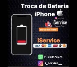 Troca de bateria iPhone todos os modelos