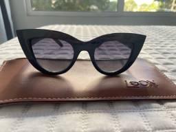 Óculos azul marinho Leon
