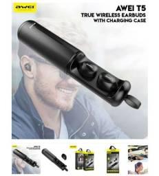 Produto novo. Fone Awei Tws Wireless Bluetooth Stereo ORIGINAL , r$230,00 ENTREGO