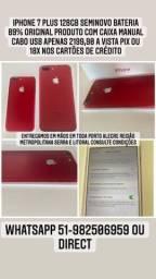 @mundicell_poa iPhone 7 Plus 128gb Anatel desbloqueado garantia