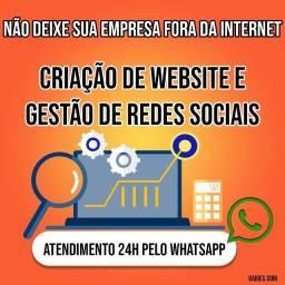Criação de sites e Gestão de Redes Sociais