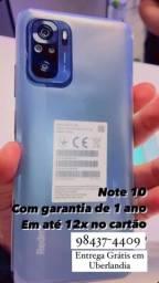Redmi Note 10 128gb Novo garantia 1 ano