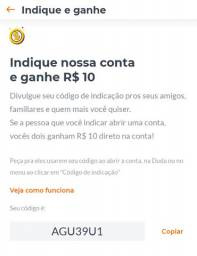Conta BMG ATIVAÇÃO AGU39U1