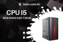 Cpu intel core i5 1155 8GB ddr3 ssd 128gb - Novo com garantia de 1 ano
