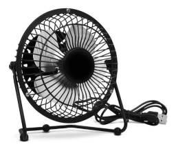 Mini Ventilador Usb Portátil Articulado Preto