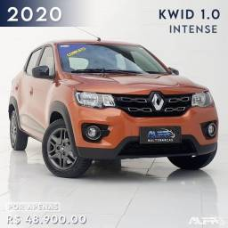 Kwid - Intense 1.0 Hatch Flex / 2020 Completo !! Baixo Km