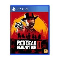 Red Dead Redemption II com mapa 2 discos