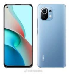 Celular Xiaomi MI 11 Lite 6GB 128GB Azul - 12 X Sem Juros