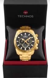 Relógio technos Carbon novo na caixa!