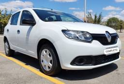 Renault Sandero 2018 Completo 3 cilindros Flex