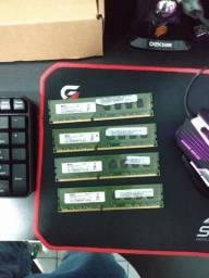 Memórias para PC - DDR3 1333MHZ - 2GB