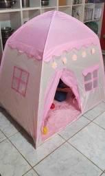 Barraca Infantil Menina Tenda Minha Casinha