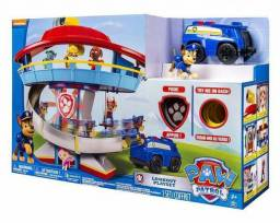Patrulha Canina Torre Farol Chase + Veiculo Paw Patrol<br>