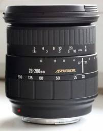 Lente objetiva Sigma 28- 200 mm