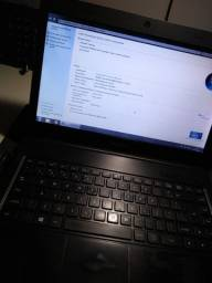 Notebook Intel Dual Core 4gb DDR3 SSD 120gb
