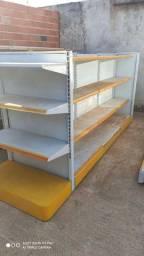 Vendo mobiliário completo de supermercado