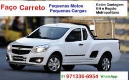 Carreto e Disque Socorro para Moto, Transporto Moto Colchão Maquina, Fretes e Carretos