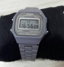 Relógio Casio cinza Vintage Retrô