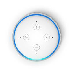 Assistente Virtual Amazon Alexa Echo Dot 3